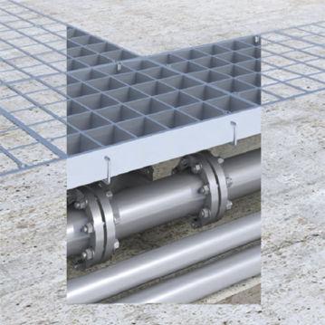 cast iron manhole cover / rectangular