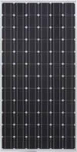 monocrystalline PV panel / standard / with aluminum frame