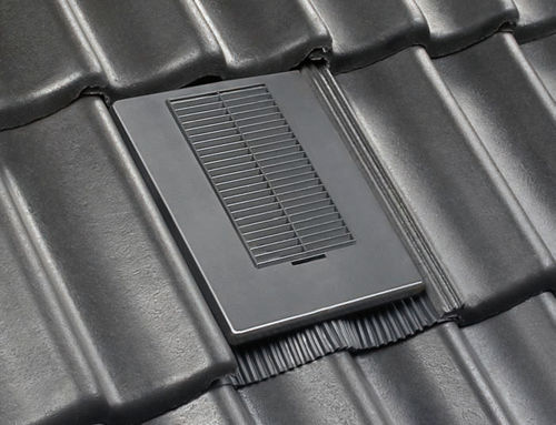 french roof tile / ventilating