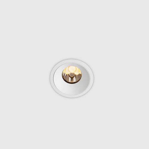 recessed downlight / LED / round / zamak