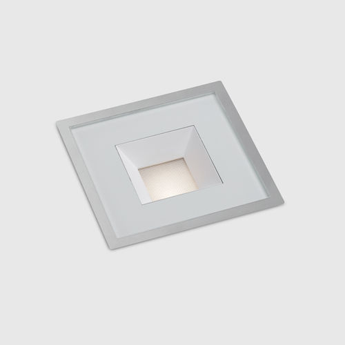 recessed floor light fixture / LED / square / round
