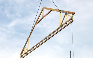Wooden Roof Truss / Prefab. ROOM IN Pasquill Roof Trusses Limited