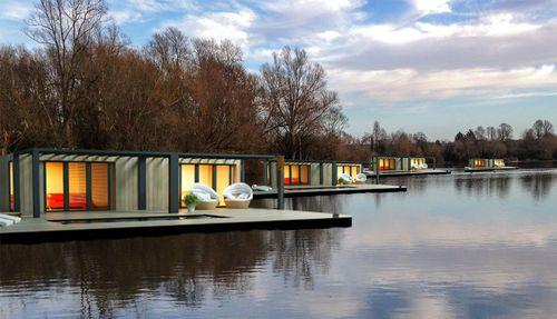 prefab house / modular / floating / trailerable