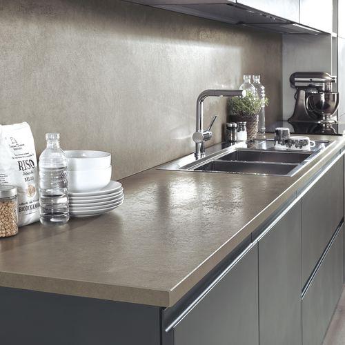 ceramic countertop / commercial / kitchen / heat-resistant