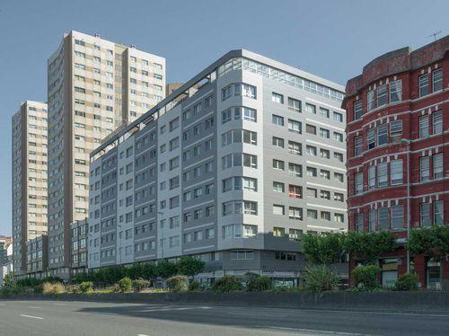 Ceramic cladding / smooth / sheet / for ventilated facades COLLECTION: PERLA LAMINAM