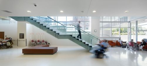 Ceramic flooring / commercial / for hospitals / tile COLLECTION: BIANCO LAMINAM