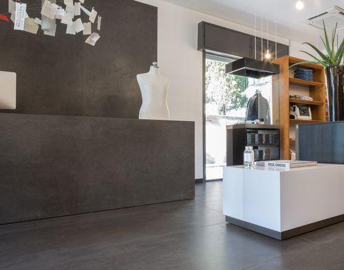 Ceramic wallcovering / commercial / smooth / stone look FOKOS: PIOMBO LAMINAM