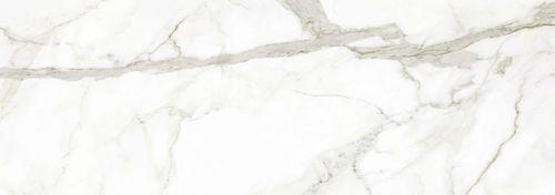 Ceramic floor covering / residential / high-gloss / marble look MARMI: CALACATTA ORO VENATO LUCIDATO LAMINAM