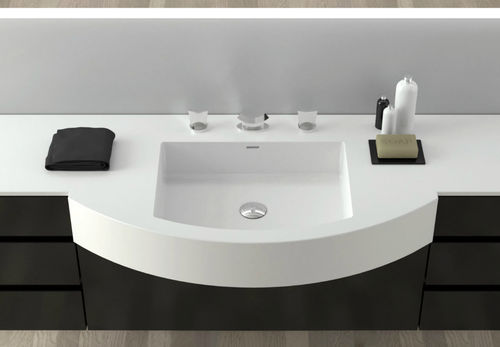 Built-in washbasin / other shapes / Corian® / contemporary REGULAR PRO MODULE MOMA DESIGN BY ARCHIPLAST