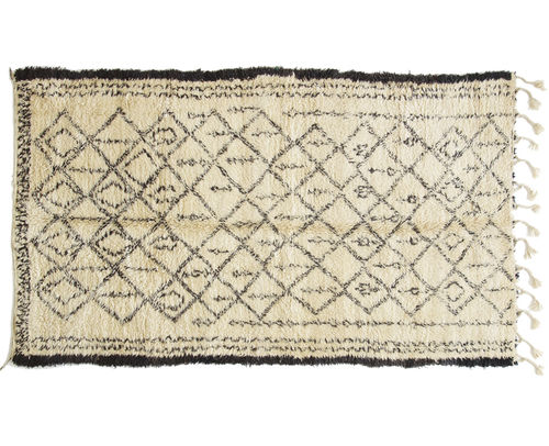 Traditional rug / geometric / patterned / wool 6002 REMADE