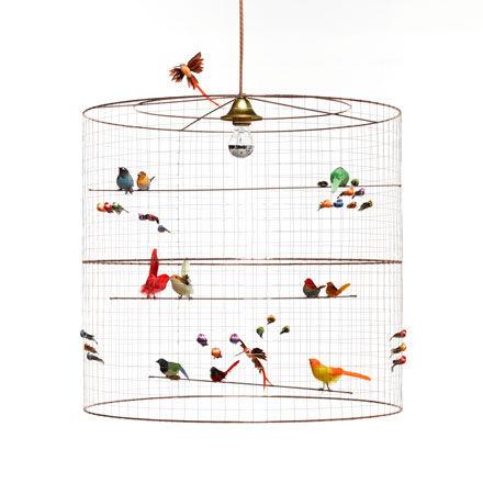 pendant lamp / contemporary / metal / handmade