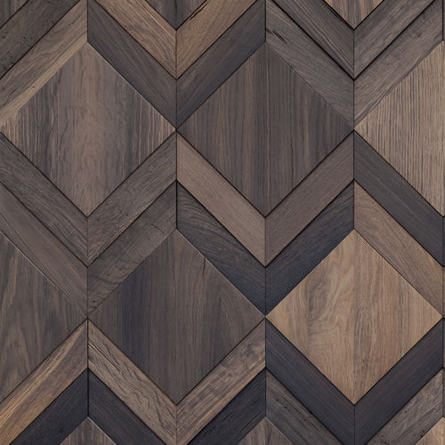 cover decorative panel / oak / for interior / wall-mounted