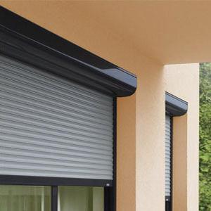 perforated sheet metal / aluminum / for roller shutters