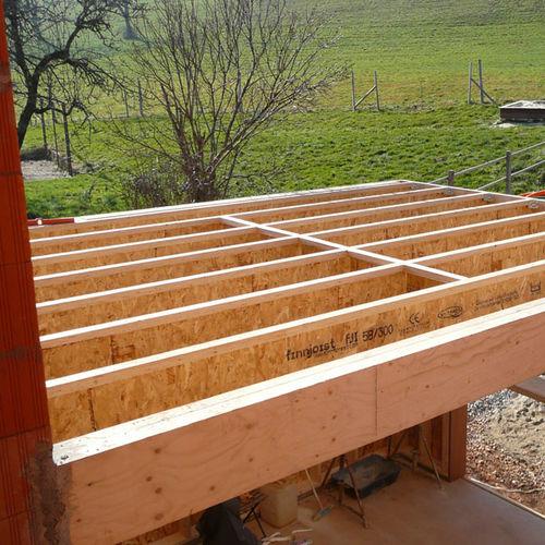 prefab beam / solid wood / laminated veneer lumber / I