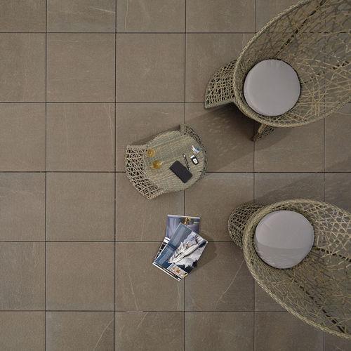 Indoor tile / outdoor / floor / porcelain stoneware L'ALTRA PIETRA - COLOSSEO PORPHYRBRAUN GRANULATI ZANDOBBIO SPA