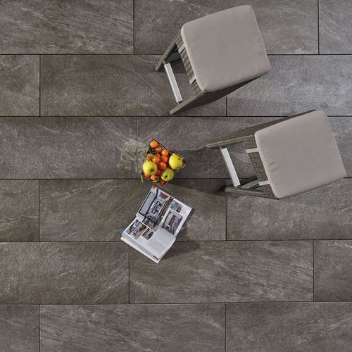 Indoor tile / outdoor / floor / porcelain stoneware L'ALTRA PIETRA - ARENA ARDESIA GRIGIA GRANULATI ZANDOBBIO SPA