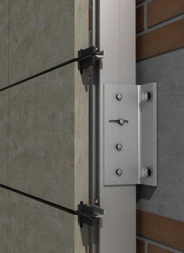 aluminum fastening system - SISTEMA MASA SL
