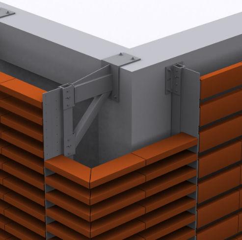 Metal fastening system / for facade cladding / for ventilated facades / exterior SPECIAL MASA SISTEMA MASA SL