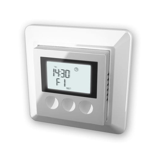programmable thermostat / electronic / wall-mounted / for heating
