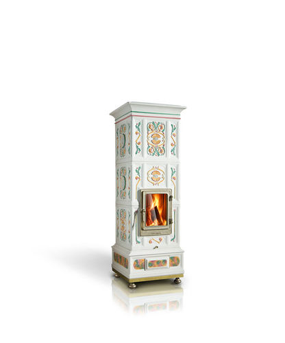 wood boiler stove / traditional / metal