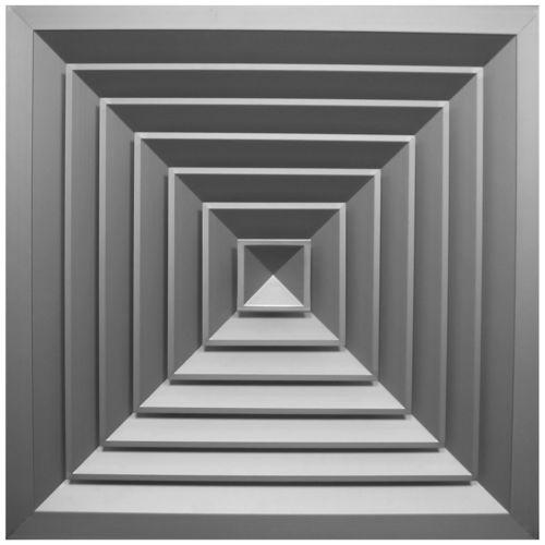 ceiling air diffuser / square