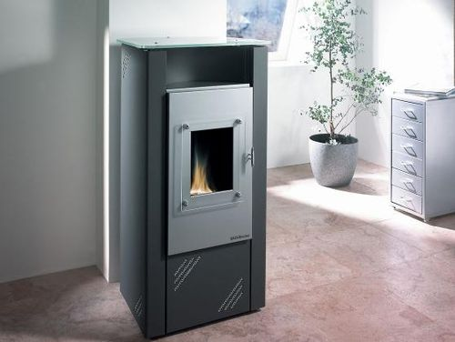 Oil heating stove / contemporary / metal IBIZA HAAS + SOHN Ofentechnik GmbH