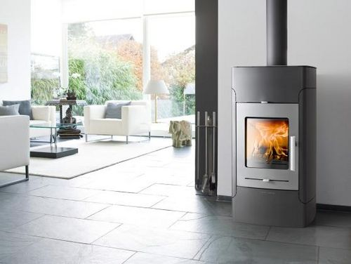 Wood boiler stove / contemporary / metal / 1-sided BELAQUA HAAS + SOHN Ofentechnik GmbH