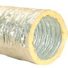 flexible air duct / aluminum / PVC / polyester