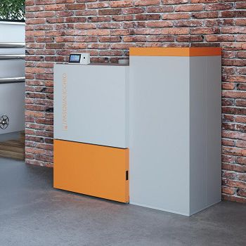 pellet boiler / biomass / residential / industrial