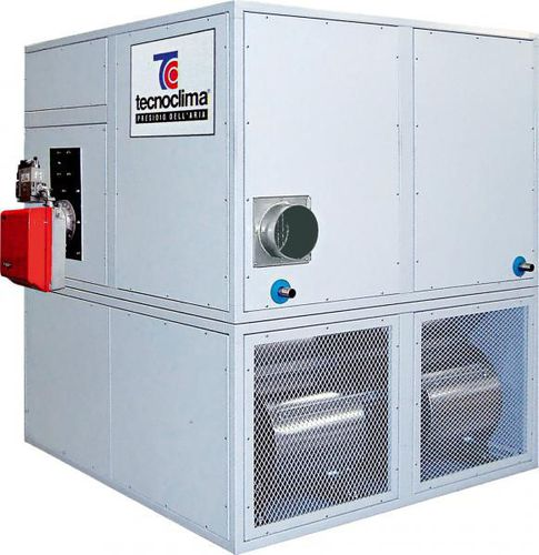gas air heater / floor / centrifugal
