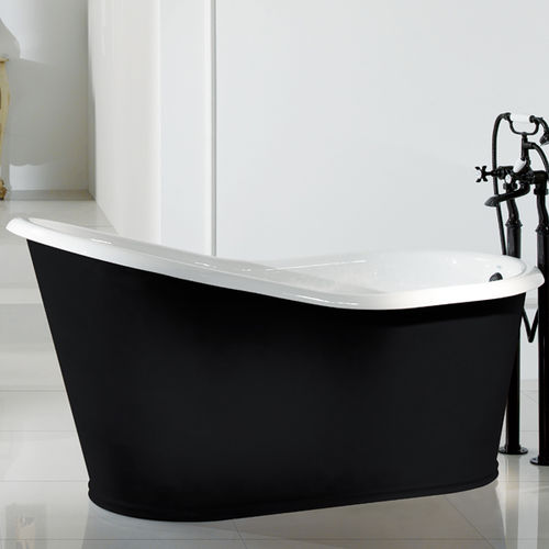 Free-standing bathtub / oval / cast iron 12030 - 12050 - 12070 BLEU PROVENCE