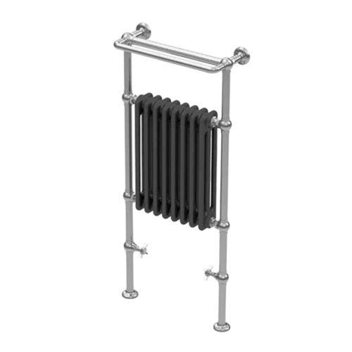 electric towel radiator / cast iron / traditional / tube