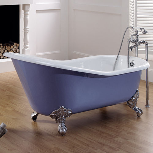 Bathtub with legs / oval / cast iron 2030 - 2050 - 2070 BLEU PROVENCE