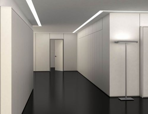 Fixed partition / wooden / for offices BOX MASCAGNI