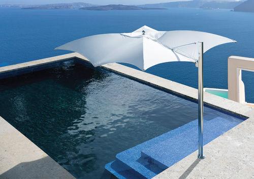 Offset patio umbrella / commercial / fabric / aluminum OCEAN MASTER MAX : MANTA CANTILEVER  TUUCI