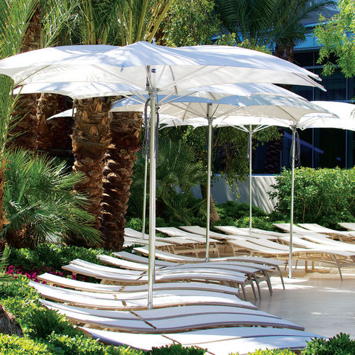 Commercial patio umbrella / fabric / aluminum OCEAN MASTER : CRESCENT TUUCI