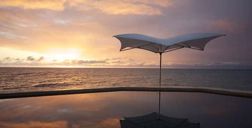 Commercial patio umbrella / fabric / aluminum OCEAN MASTER MAX : MANTA TUUCI