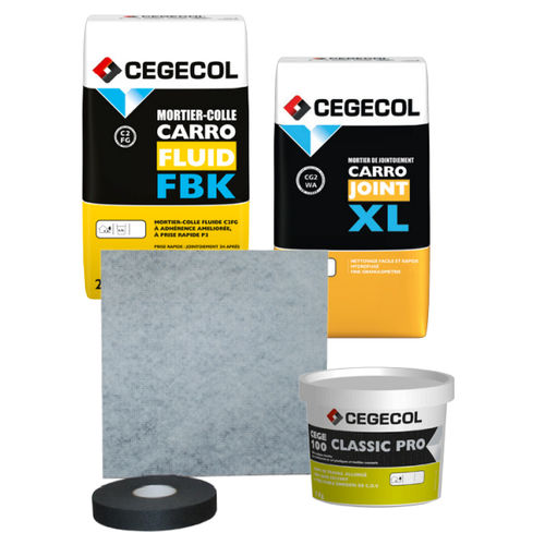 acoustic insulation / for floors / sheet
