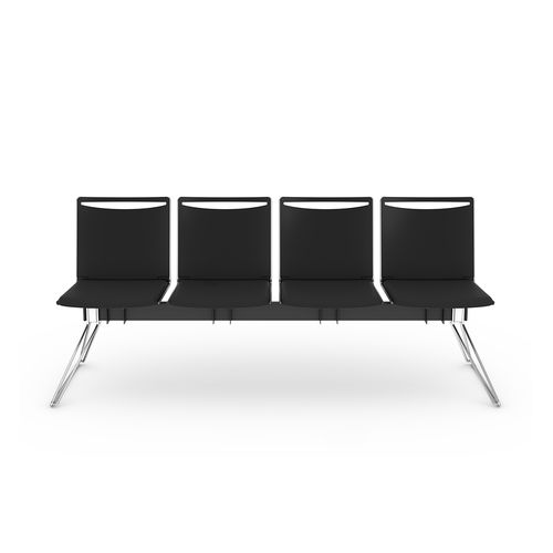 Steel beam chairs / polypropylene / 3-seater / 4-seater KLIKIT Viasit GmbH