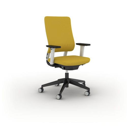 Contemporary office armchair / polypropylene / fabric / steel DRUMBACK Viasit GmbH