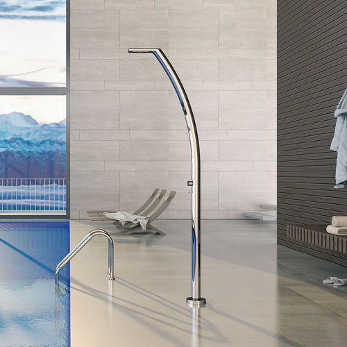 Stainless steel outdoor shower YACHT M Inoxstyle
