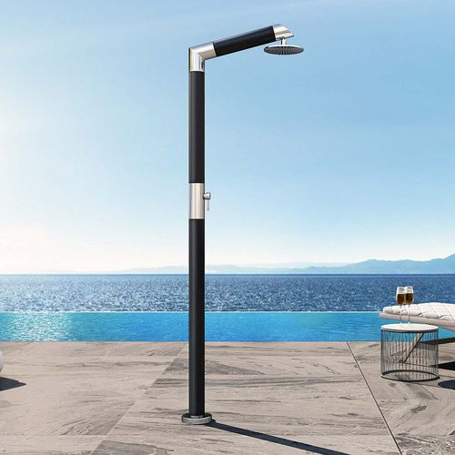 pool outdoor shower / stainless steel
