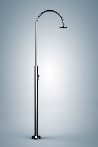 Stainless steel outdoor shower ARIA CYLINDER Inoxstyle