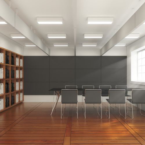 interior acoustic panel / for ceilings / for false ceilings / for interior walls