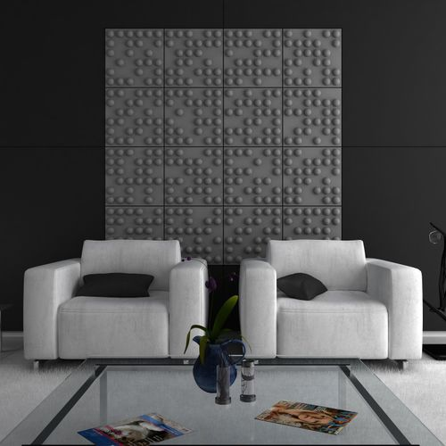 interior acoustic panel / for ceilings / for interior walls / for panels