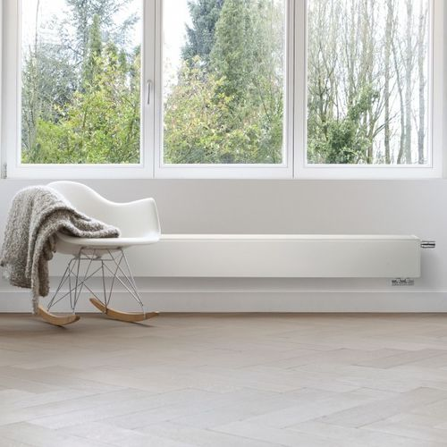 electric radiator / steel / contemporary / baseboard