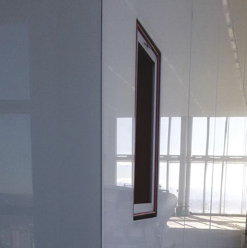 Glass composite panel / steel / for partition walls / wall-mounted GAMMASTONE GLASS AIR GAMMASTONE
