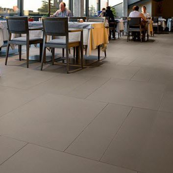 stone flooring / for hotels / tile / satin finish