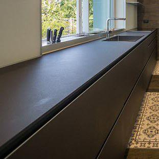 stone kitchen worktop / kitchen