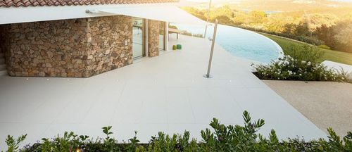 natural stone flooring / for shops / residential / tile
